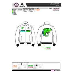 CHAQUETA CHANDAL T2 PRO CRO ANDALUSCAMP