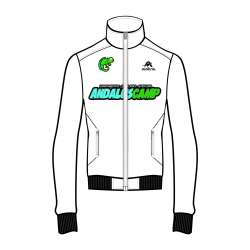 CHAQUETA CHANDAL T2 PRO SRA ANDALUSCAMP