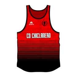 CAMISETA TIRANTES PRO-AM CRO CHICLANERO