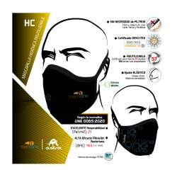 MASCARILLA HIGIENICA REUTILIZABLE HC - TEAM ONE