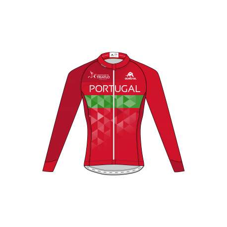 MAILLOT ML CC PRO 3.0 INVIERNO CRO FED. PORTUGAL