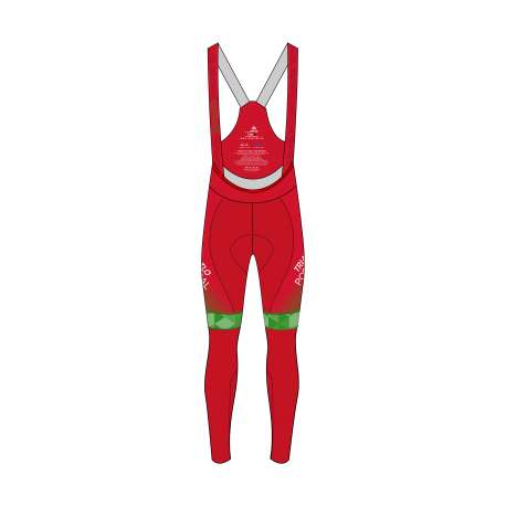 CYCLING LONG BIB PRO 3.0 THERMAL WOMEN FED. PORTUGAL