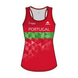 SLEEVELESS SHIRT PRO 2.0 WOMEN FED. PORTUGAL