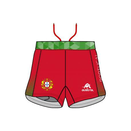 RUNNING SHORT PRO 2.0 WOMEN FED. PORTUGAL