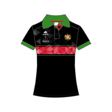 POLO SHIRT T1 PRO WOMEN FED. PORTUGAL